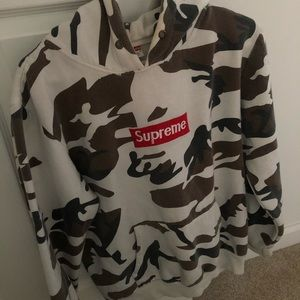 Supreme cow camp hoodie , (size large) fits like M